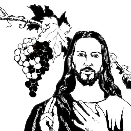 Kết quả hình ảnh cho hình ảnh Chúa Giêsu su nói: Ở lại và sinh hoa trái