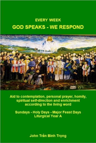 "Introduction of a new book ""Every Week God Speaks – We Respond. Cycle A"""